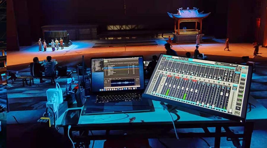 广州梅州《原乡》客家文化主题实景演出项目,共4个场景,使用Waves eMotion LV1系统两套,6个SoundStudio STG接口箱。